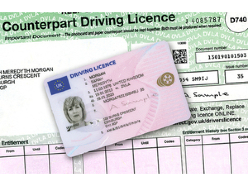 Driving Licence Changes 2015