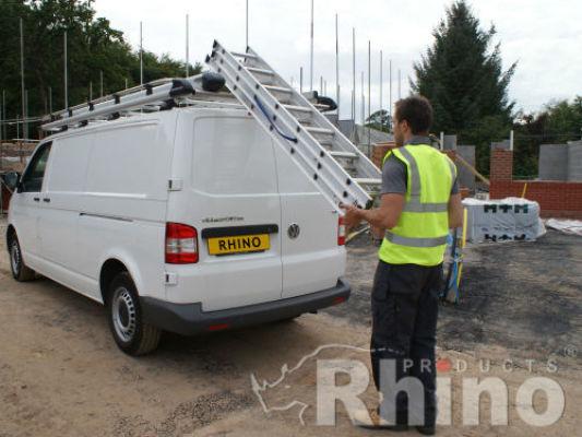 Rhino Aluminium Roof Rack For Ford Transit Custom 2013