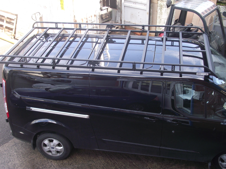 Custom Vehicle Roof : Transit custom modular rack rhino roof accessories