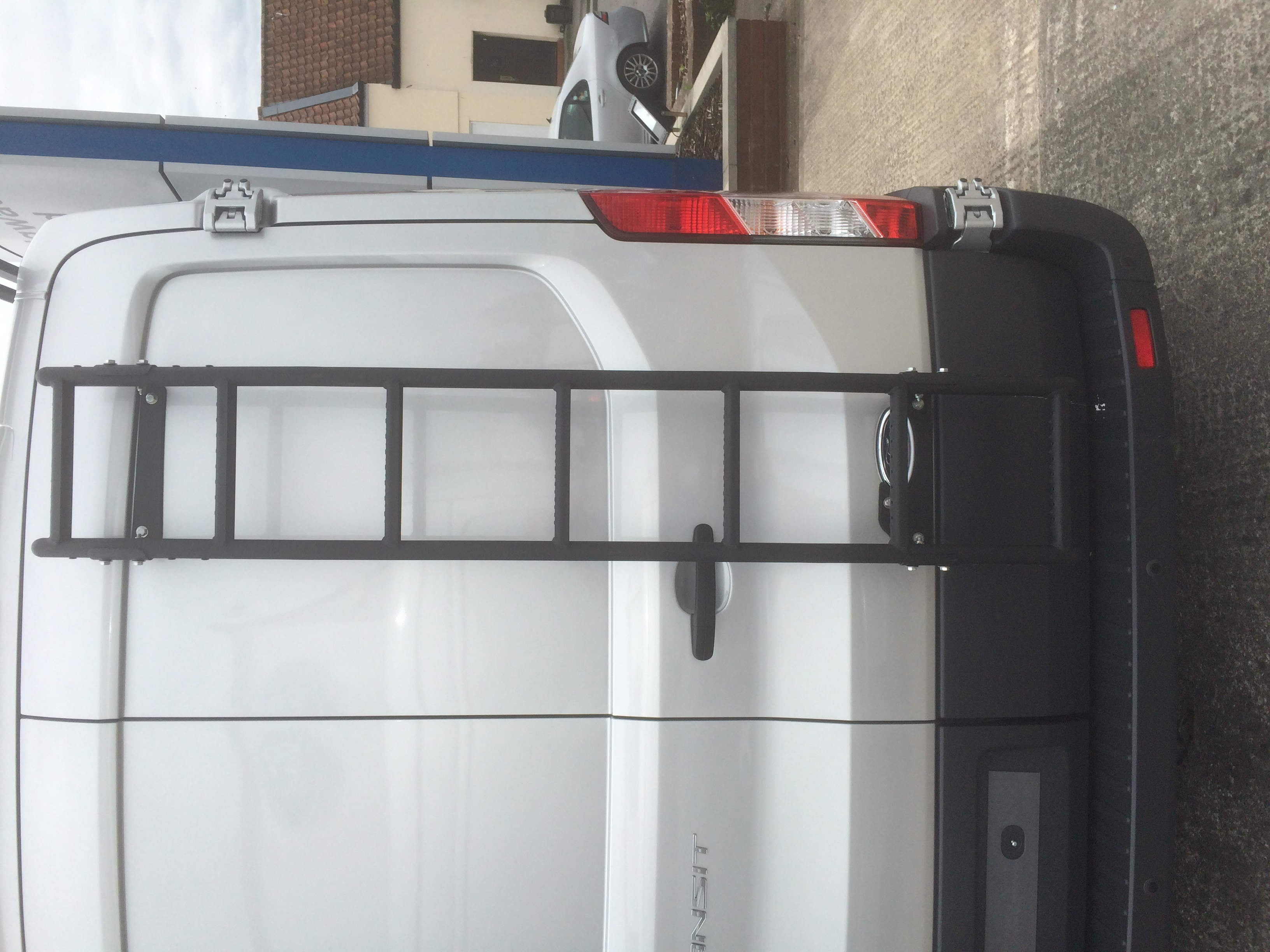 Rear door ladder - Ford Transit