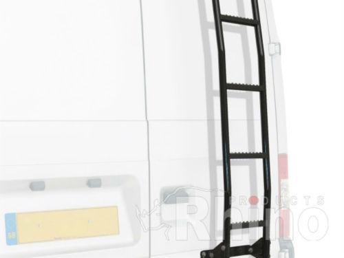 Installation Of A Rear Door Ladder Installation Rhino