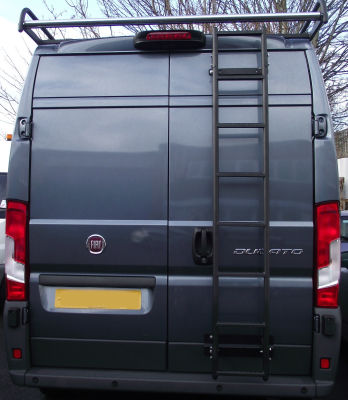 A Modular Rack installed onto a Fiat Ducato
