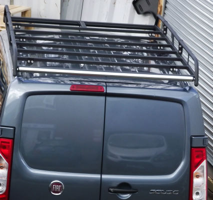 A Modular Rack installed onto a Fiat Scudo
